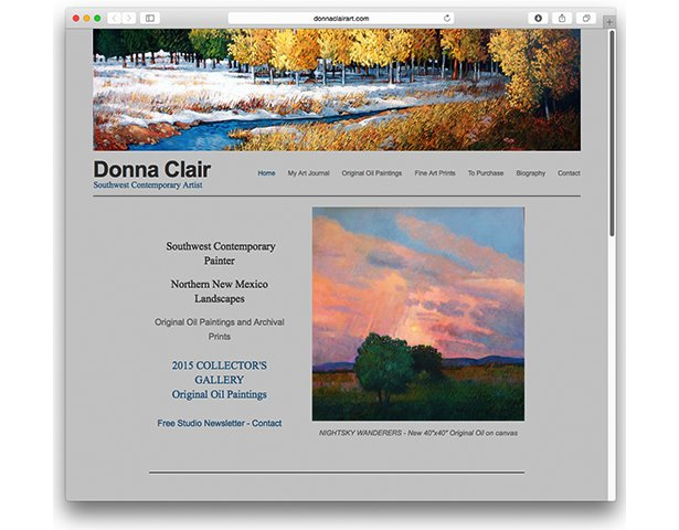 <strong>Donna Clair</strong> | web site & tutoring