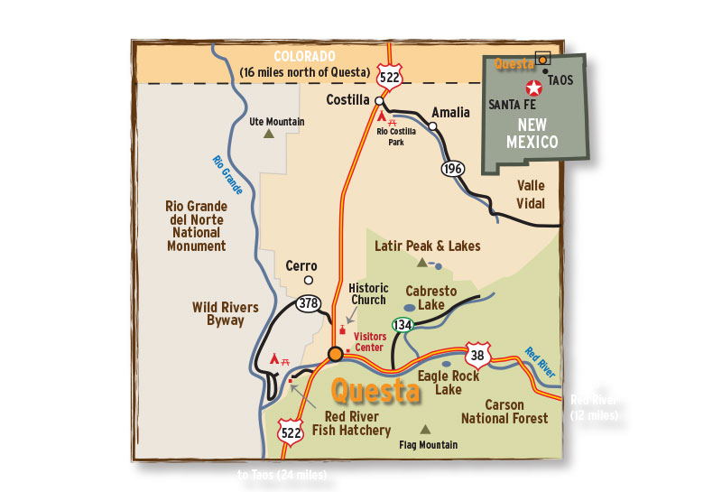 <strong>Village of Questa</strong> | web, print, tutoring